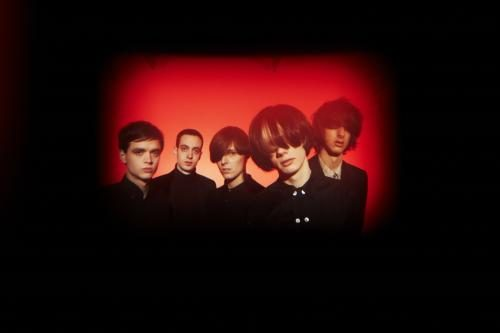 The Horrors photographed for the NME by Dean Chalkley