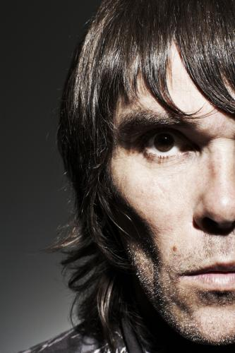 Ian Brown photographed for the NME by Dean Chalkley