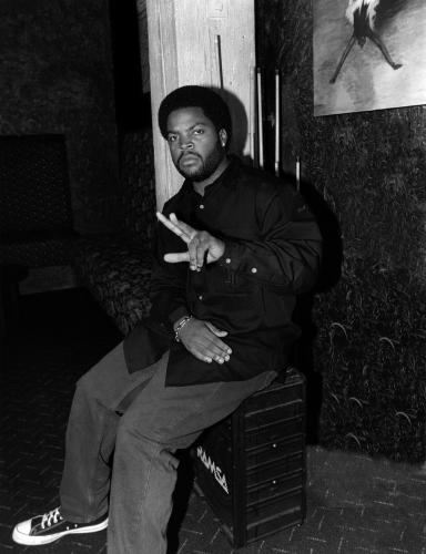 Rapper and actor Ice Cube