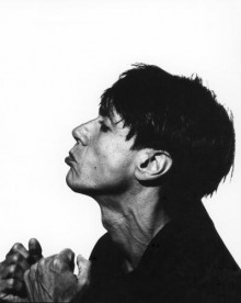 Iggy Pop photographed in 1985.