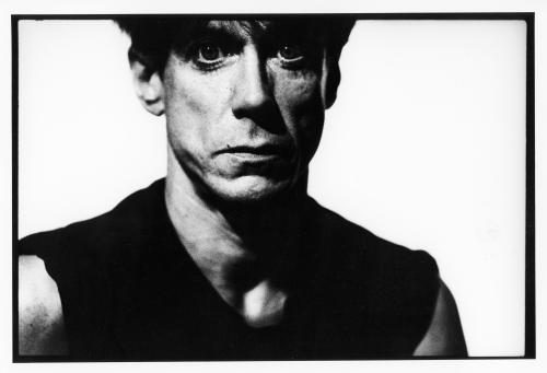 Iggy Pop photographed in 1985 by Peter Anderson.