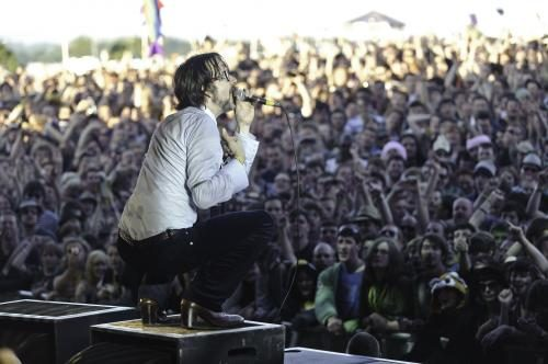 Pulp at Glastonbury 2011.