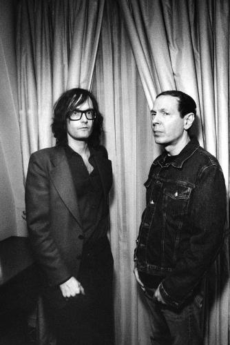 Jarvis Cocker and Scott Walker photographed in 2007.