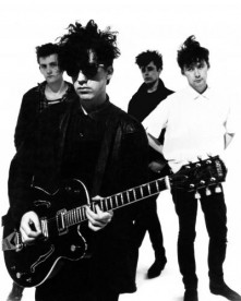 The Jesus & Mary Chain photographed by Peter Anderson.
