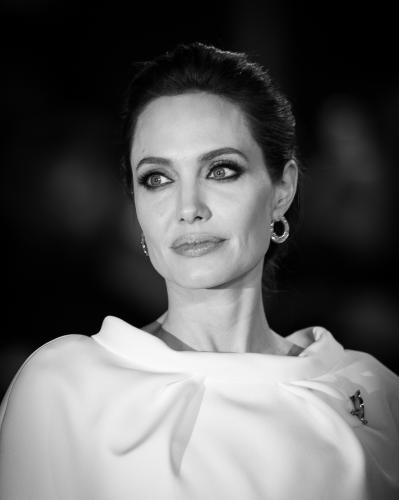 Angelina Jolie photographed at the Unbroken Premiere.
