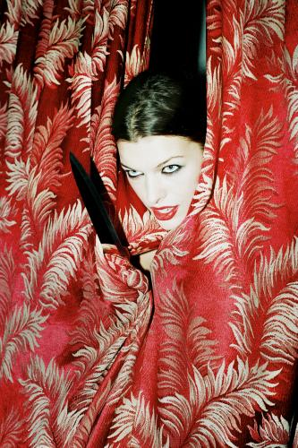 Milla Jovovich photographed by Chris Floyd.