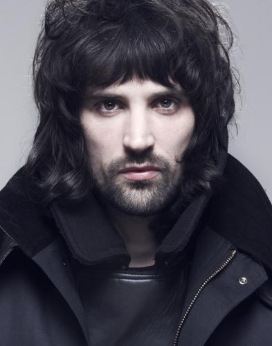 Serge Pizzorno of Kasabian shot in Street Studios
