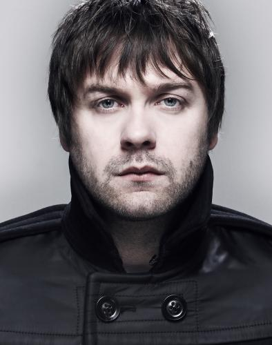 Tom Meighan of Kasabian shot in Street Studios