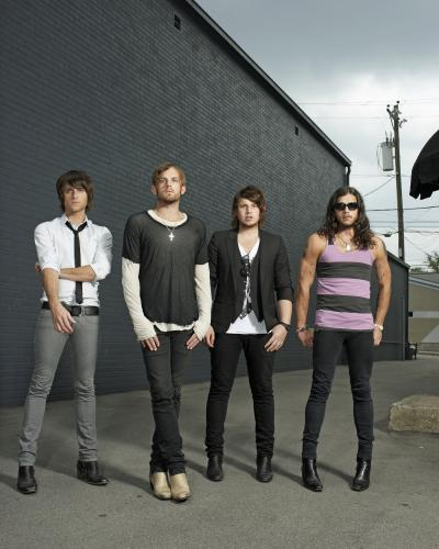 The Kings of Leon photographed in Nashville