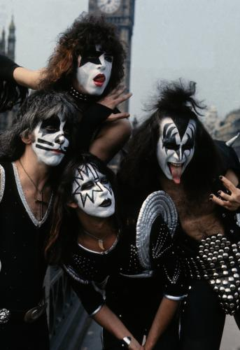 American rock group Kiss