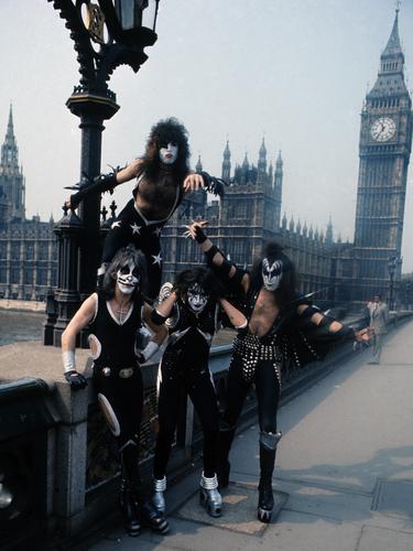 American rock group Kiss