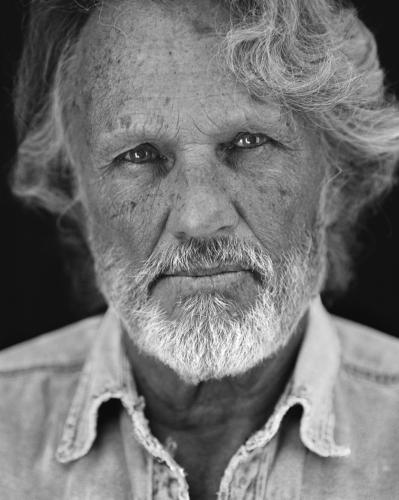 Kris Kristofferson photographed by Chris Floyd