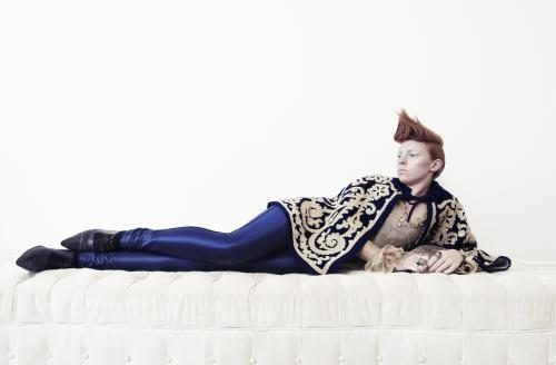 Elly Jackson of La Roux photographed for the NME by Dean Chalkley