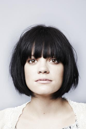 Lily Allen photographed in 2010 by Chris FLoyd.