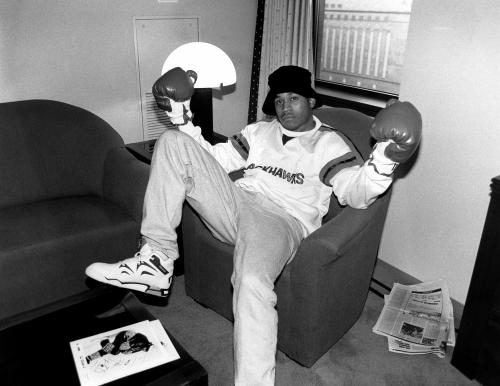 Actor and rapper L.L. Cool J.