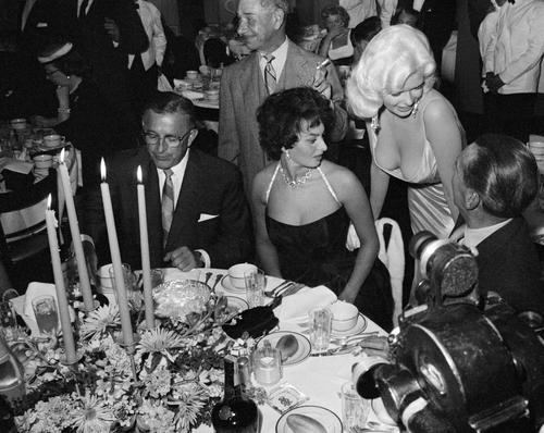 Sophia Loren And Jayne Mansfield Sonic Editions