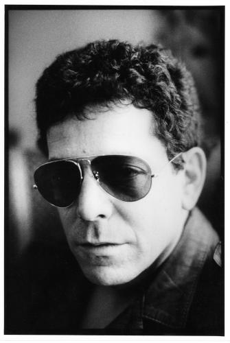 Lou Reed in Aviators - London 1981.