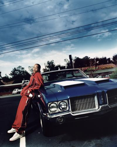 Rapper Ludacris photographed by Jay Brooks in 2007.