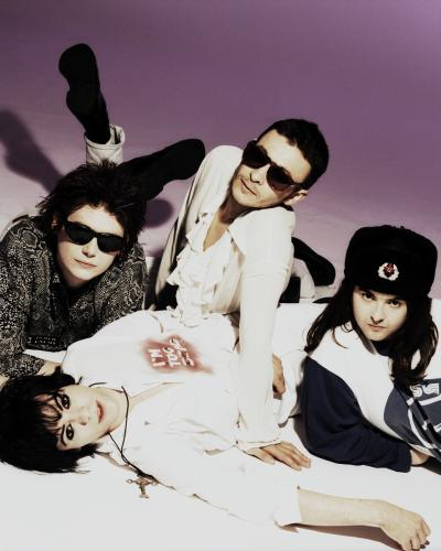 The Manic Street Preachers in London 1993. (L-R) Richey Edwards