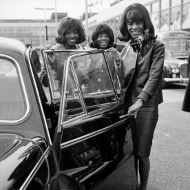 Martha Reeves & The Vandellas photographed
