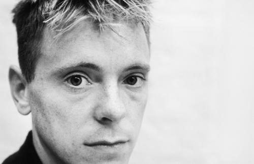 Bernard Sumner of New Order photographed in 1985.