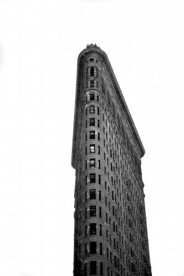 The Flatiron Building photographed in November 2012 by Stephen Albanese Sonic Editions print