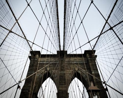 The Brooklyn Bridge photographed by Stephen Albanese