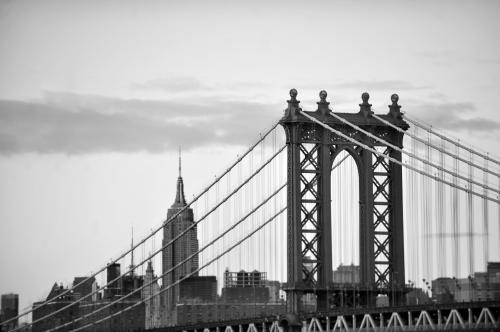 The Manhattan Bridge photographed by Stephen Albanese in November 2013 Sonic Editions