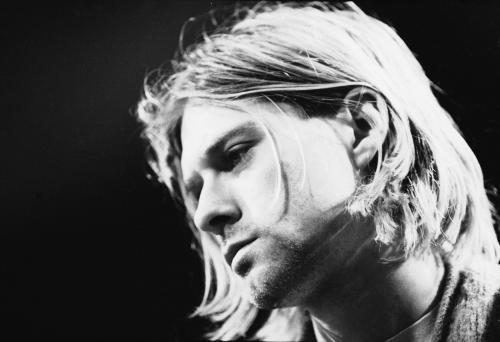 American singer and guitarist Kurt Cobain (1967 - 1994)