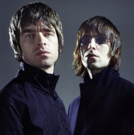 Liam and Noel Gallagher of Oasis Sonic Editions print