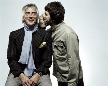 Noel Gallagher and Paul Weller photographed by Chris Floyd in 2006.