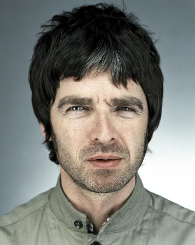 Noel Gallagher photographed by Chris Floyd.