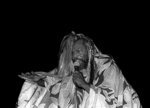 Singer George Clinton of Parliament-Funkadelic performs at the Regal Theater in Chicago