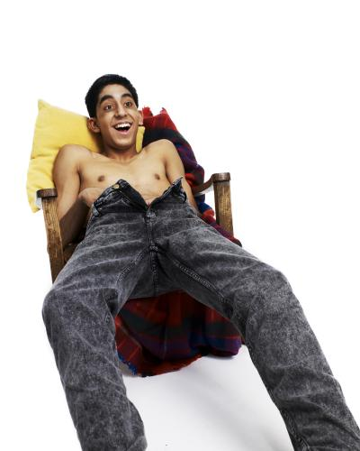 Actor Dev Patel photographed in 2008.