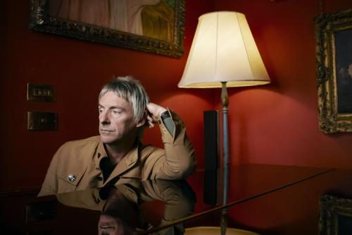 Paul Weller photographed at the Arts Club in Mayfair