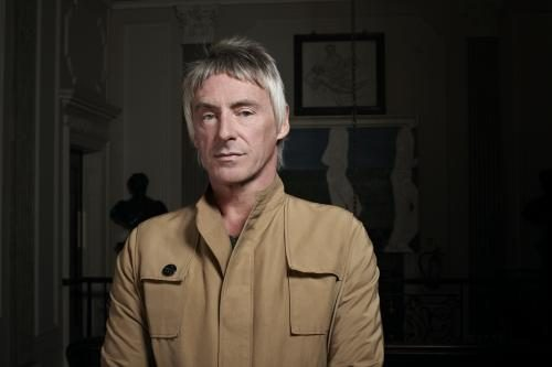 Paul Weller photographed at the Arts Club