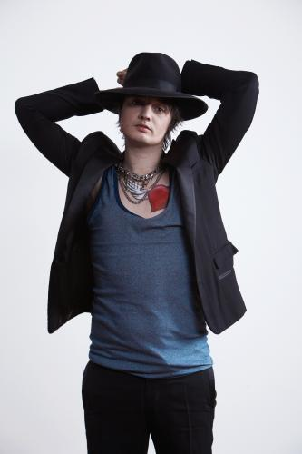 Pete Doherty photographed for the NME by Tom Oxley