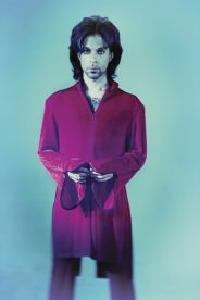 Portrait of American singer-songwriter, multi-instrumentalist and record producer, Prince.