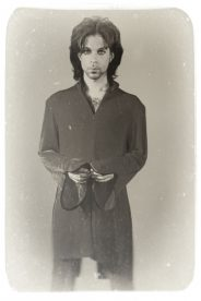 Portrait of American singer-songwriter, multi-instrumentalist and record producer, Prince Rogers Nelson.