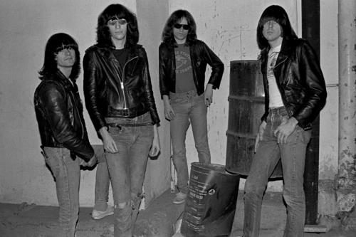 Joey Ramone and The Ramones photographed by Janet Macoska
