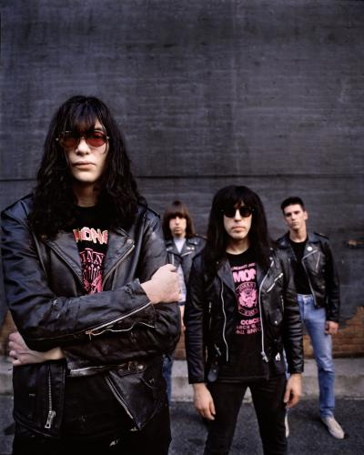 The Ramones photographed in New York City 1989.