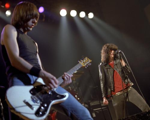 The Ramones performing at the Eagles Hippodrome