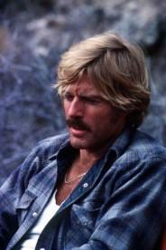Robert Redford during the shooting of the film  'Electric Horseman' in March 1979.