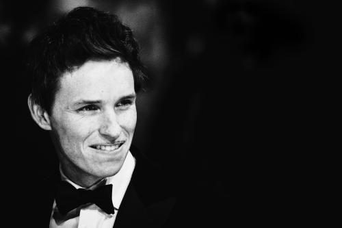 Eddie Redmayne photographed on the red carpet at the 2015 Bafta Awards.