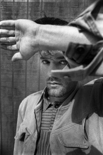 Michael Stipe of R.E.M. photographed in Athens