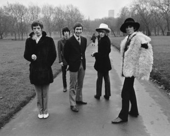 The Rolling Stones taking a stroll through London's Green Park