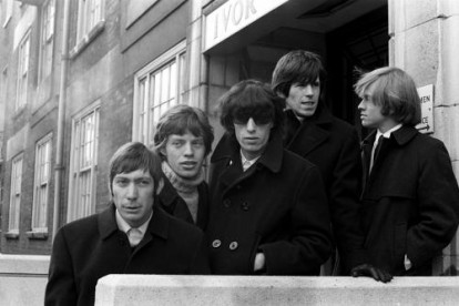 The orginal members of The Rolling Stones. 1962.