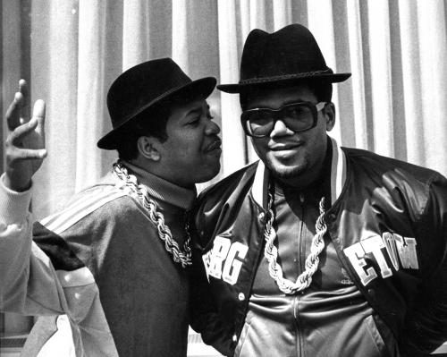 DJ Run and DMC (of Run DMC) in Berlin