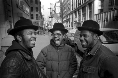 Run D.M.C. New York City 1985. Commissioned by The Face magazine.