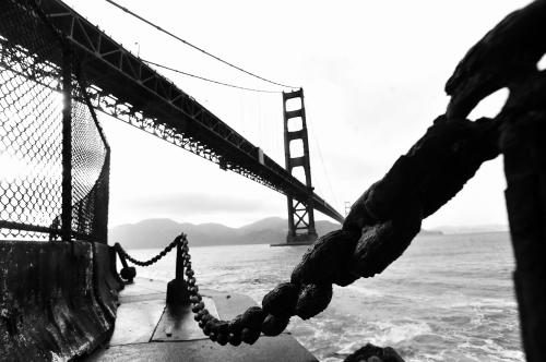 San Francisco's Golden Gate Bridge photographed by Stephen Albanese.